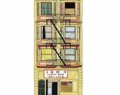 Comfort Shoes, San Francisco - Postcard