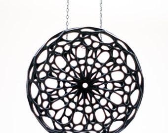 Cellular Pendant (3D printed nylon)