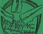 Will You Marry Me Kiddy Pools & Whiskey Sours