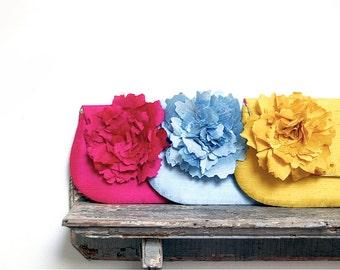 Envelope Clutch. Silk Bridesmaid Clutch. Personalized Bridesmaid Clutch. Pink Wedding Clutch. Yellow Clutch. Blue Clutch. Fold Over Clutch.