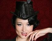 Goth-Victorian-Bram Stokers Dracula-Mina-Costume Top Hat