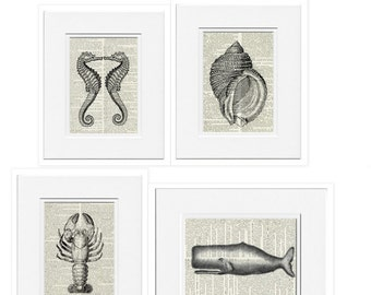 Nautical prints, Four
