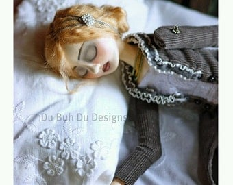 Art Doll Print-Sylvia Dreams by Christine Alvarado