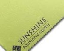 Jewelry Polishing Cloth, Sunshine Polishing Cloth, Metal Polishing Cloth - 8x5 inches...Simply the Best