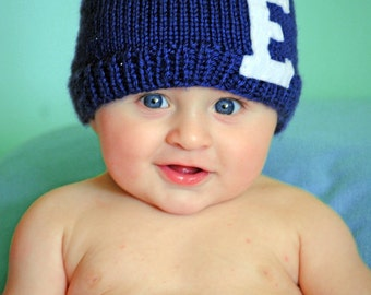 Personalized Beanie with Initial of your choice, Initial hat, CUSTOM HAT- Design your own hat in every color and felt letter or number