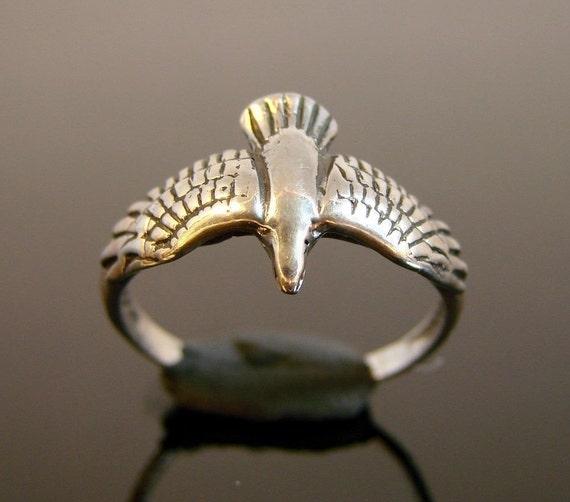 Sterling Silver Bird Ring