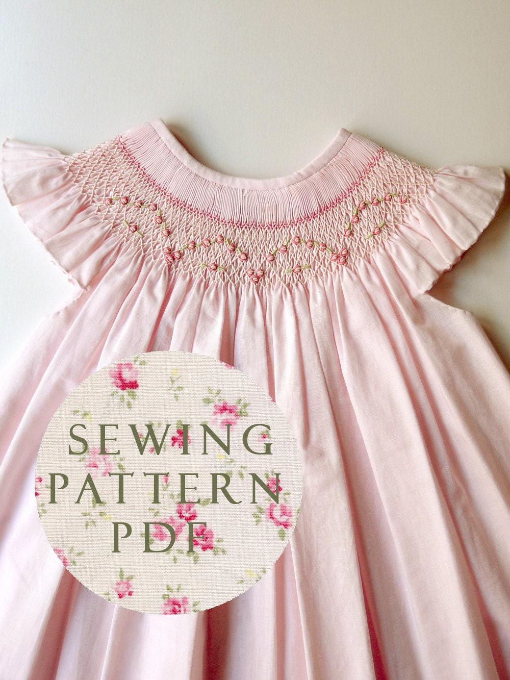 The Charming Bishop Dress 1 Year Sewing Pdf Pattern
