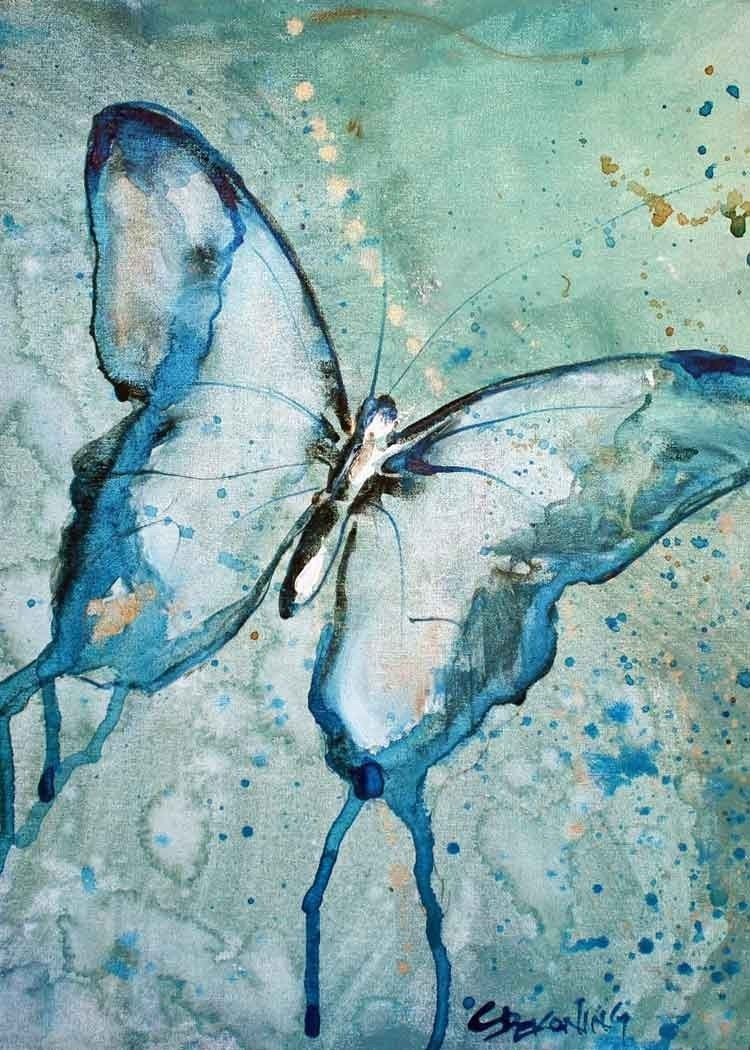 Famous butterfly paintings - photo#16