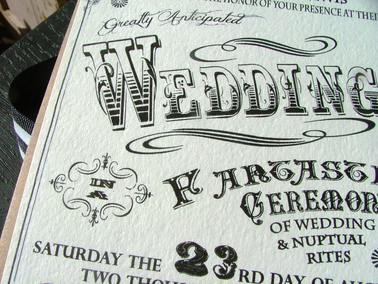 Carnival Wedding Invitations Incredible Poster Wedding