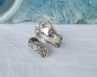Vintage Old Master Towle Sterling Silver Spoon Ring   dmfsparkles
