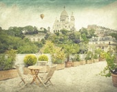 Paris photography, Paris decor, Montmartre, Spring trends, Paris art, Green art - PhotographyDream