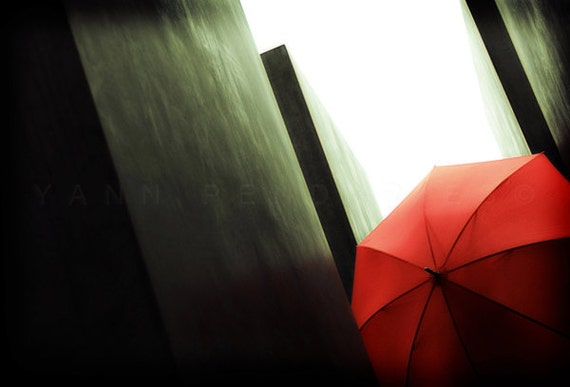 Fine art photography, Red umbrella, Umbrella art, Wall art, Wall decor, Umbrella Photo, Geometric, Red home decor, modern decor