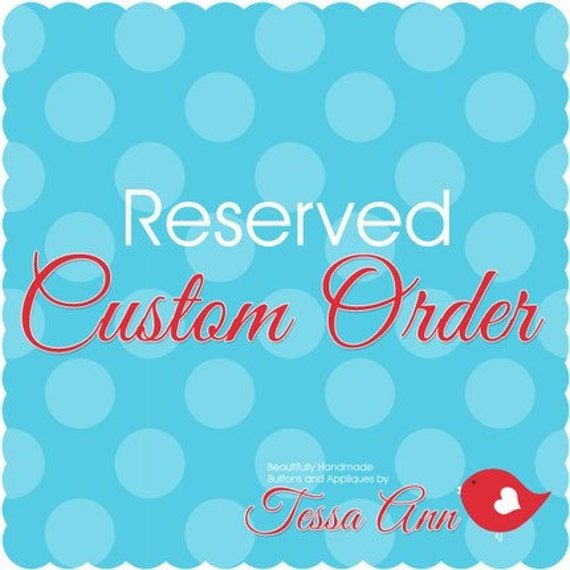 RESERVED LISTING janetmacy