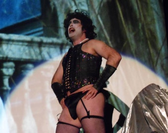 Frankenferter Rocky Horror Picture Show Accessory Package And Corset
