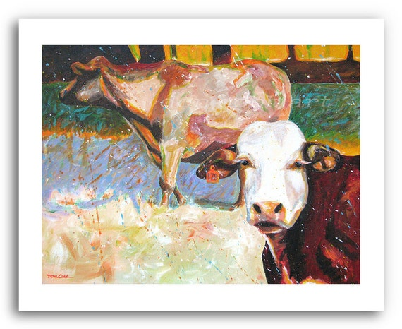 Cow Art Moo Cows Prints Signed And Numbered