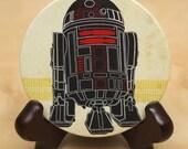 Star Wars R2D2 glow Pocket Mirror - geekery - droid