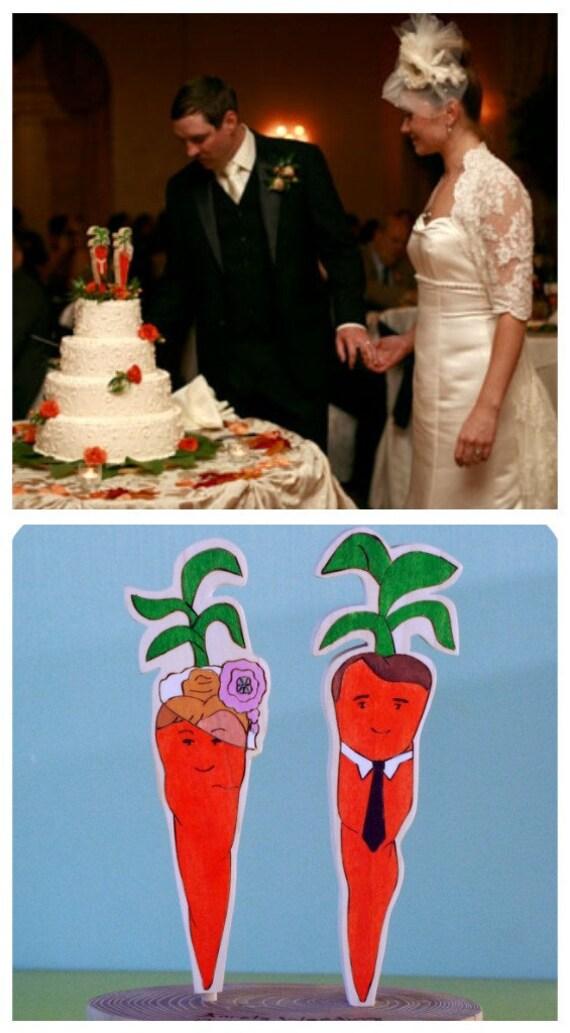 Wedding Cake Topper Custom Animal Pair or Object Pair