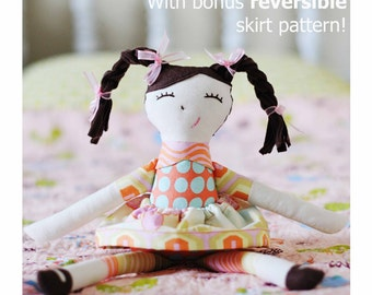 DOLL PDF PATTERN - Ruby Lou Doll By Sew Much Ado