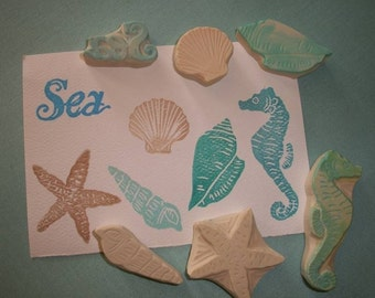 Under The Sea Stamp Set