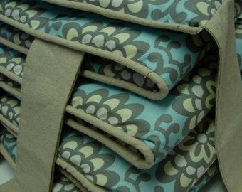 Add PIPING  to any Crib Bumper Custom Baby Bedding Design Nursery Welting Upgrade Fitted Sheet Skirt Dust Ruffle Dot Stripe Chevron Damask