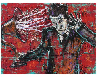 Tom Waits - Real Gone - 18 x 12 High Quality Pop Art Print
