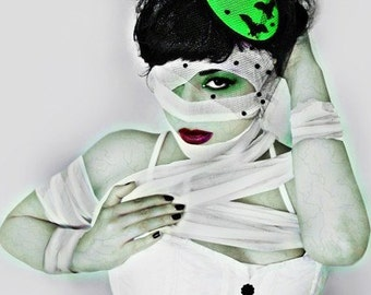 BAT HAT  - Goo Green