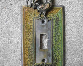 Single Rooster Switchplate