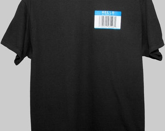 HELLO my barcode is T-Shirt