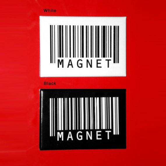 Barcode Magnet (select one)