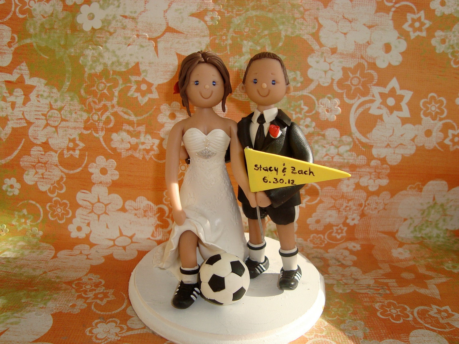 Custom Cake Toppers Balance For Juliastavridis By Mudcards