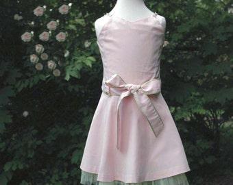 Toddler girl pink dress, Pink Dress, Little Girls outfit, Birthday Dress, Dress for Toddlers, Toddler pink dress, Cotton dress girls