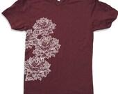 Mens Lotus Blossoms t shirt s m l xl xxl (+ Color Options)