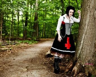 Fluffer Designs Saint Rita Corset and Tutu style Skirt