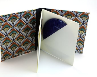 CD/DVD case for up to 4 Italian Arches Pattern