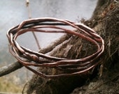 Bangle Copper - Five Tangled Branches - Nest