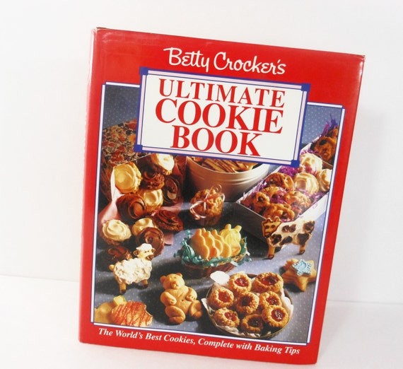 Vintage Betty Crocker Cookbook Ultimate Cookie Book First Edition 1992 Hardcover PeachyChicBoutique on Etsy