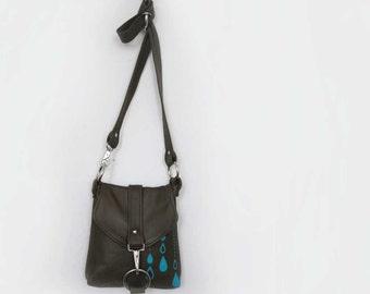 Custom listing: SMALL MESSENGER - custom leather satchel bag