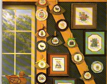 Counted Cross Stitch Pattern Book Country Homestead Series V 2 book 16 Canterbury Designs