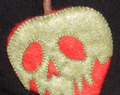 Poison Apple Felt Cookie