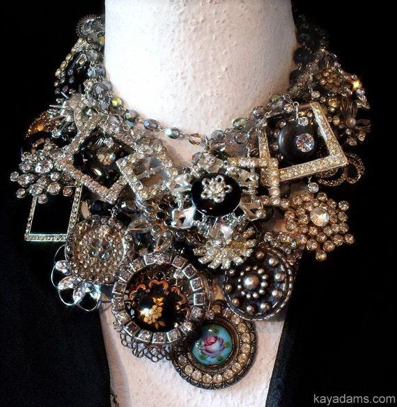 GIANT Necklace. PILE it ON. (It's PreTTier that WaY). Send Me YouR DeSTasH. Payment for a Kay Adams Custom Necklace w/ YouR Pieces.
