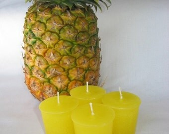 PINEAPPLE (4 votives or 4-oz soy jar candle)
