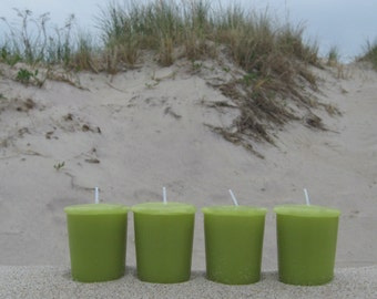 DUNE GRASS type (4 votives or 4oz soy jar candle)