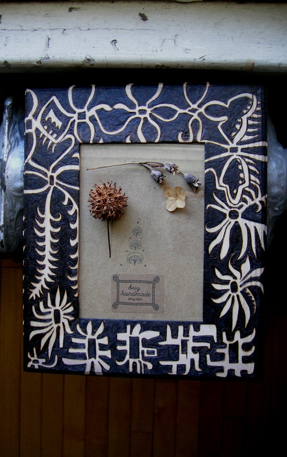 custom abstracted star frame-decor and housewares-ooak woodburned design by cecilia galluccio