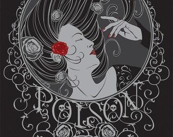 Poison - Art Print 4x6