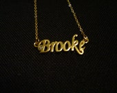 Brooke: Gold Tone (Necklace)