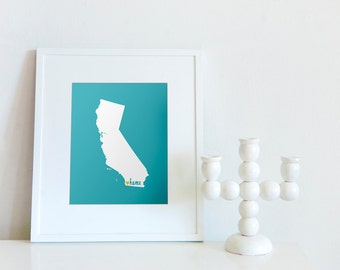 San Diego is My Home // 8x10 Digital California Print