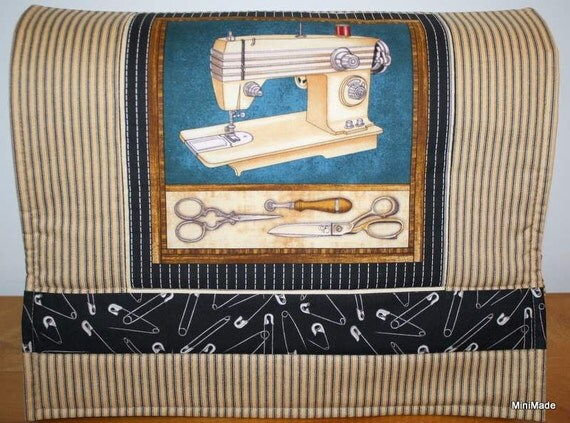 Sewing Machine Cover, Vintage Sewing Machine