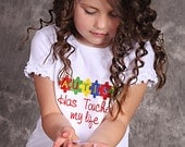 Autism Awareness Shirt... Autism has touched my Life Autism Awareness shirt...Asperger's Awareness