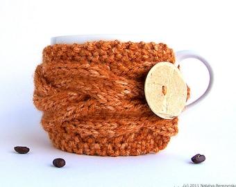 Pumpkin Spice Mug Cozy, Coffee Cozy, Tea Cozy, Gifts Under 20, Coffee Cup Cozy Coffee Cup Sleeve Coffee Mug Cozy Coffee Sleeve Pumpkin Decor