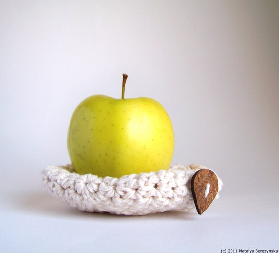 Yoga Gifts, Apple Cozy, Vegan Gift, Crochet Apple Cozy, Fitness Gifts, Gifts for Daughter, Teacher Gifts, Student Gifts, Snack Bags